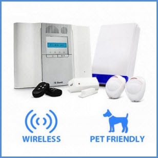 Wireless alarms Leeds